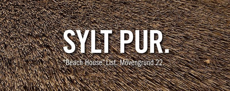 SYLT PUR - Beach House List. Mövengrund 22